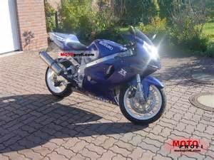 Suzuki 750 Gsxr 2000 Suzuki Gsx R 750 2000 Specs And Photos