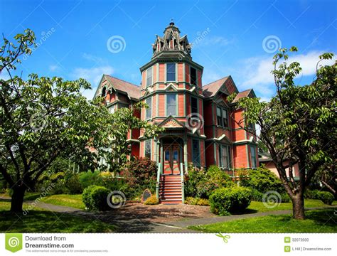 Modern Victorian House Plans Large Victorian Mansion Stock Photo Image 32073500