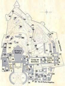 Vatican Museum Floor Plan by Map Of Vatican City