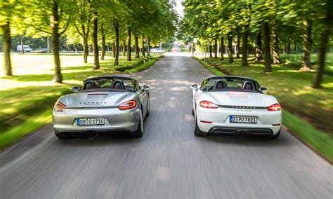 Porsche Boxster 981 by Porsche 981 Boxster Gts Oder 718 Boxster S Unsere