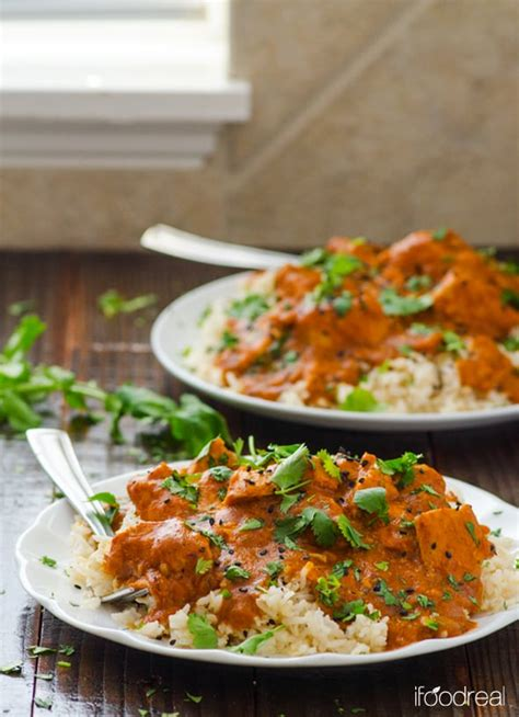 crockpot butter chicken ifoodreal healthy family recipes