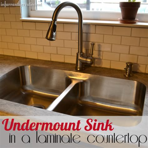 undermount sink with laminate countertop karran sink infarrantly creative