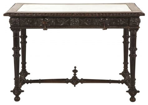 Uttermost Wall Mirrors Antique Carved Mirror Top Table Traditional Side