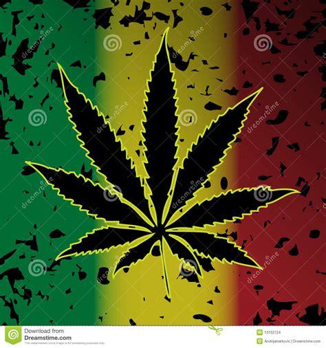 Ganja Abstact cannabis marijuana stock vector image of image