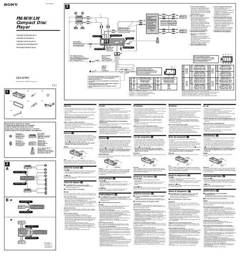 sony cdx gt610ui wiring diagram sony cdx gt10w wiring