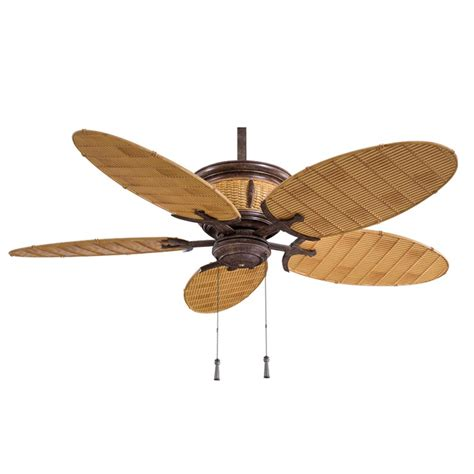 Shangri La Ceiling Fan F580 Vr Bb Vintage Rust Minka Ceiling Fan Without Lights