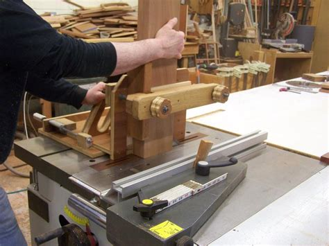My Shop Made Tenon Cutter For The Tablesaw