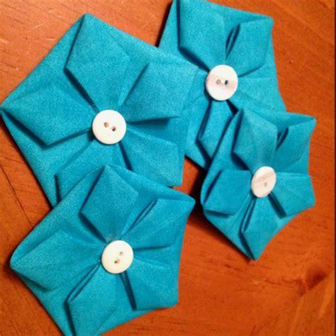 origami fabric folding 27 best fabric folding images on fabric