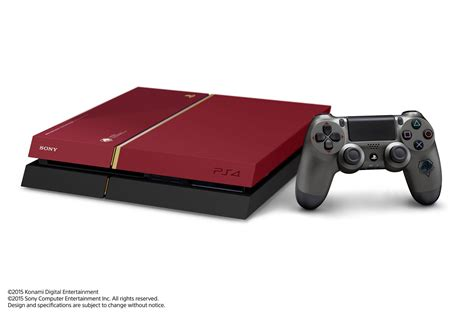 Console Ps 4 Metal Gear Solid V The Phantom Edition metal gear solid 5 the phantom limited edition ps4 releasing in asia vg247