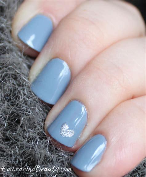easy nail art heart blue heart nail art for valentine s day