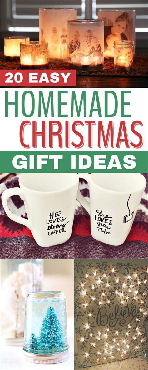 homemade christmas gift ideas christmas store 20 easy homemade christmas gift ideas