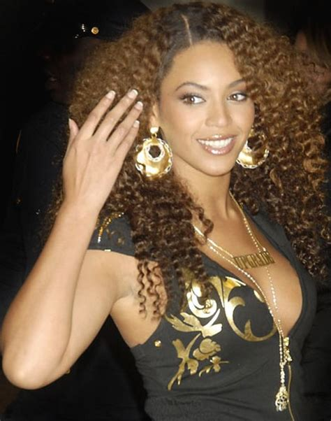 beyonce with perms african american singer