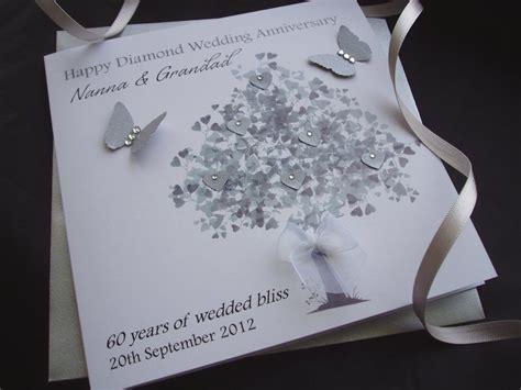 tree wedding anniversary card handmade cards pink posh