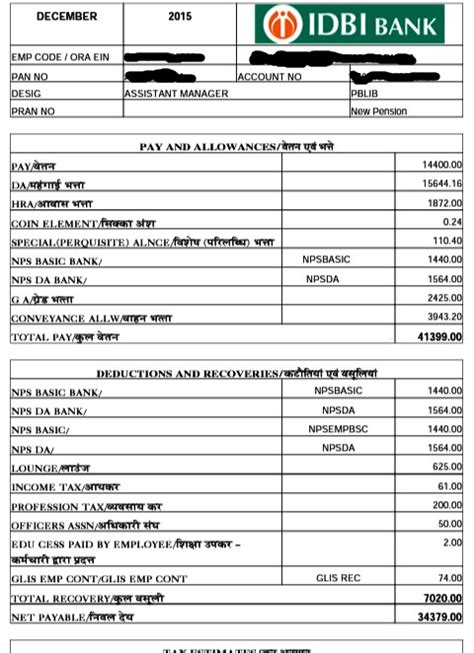 Icici Bank Letterhead Sle Doc 683472 Salary Slip Free Salary Slip In Excel And Word Format 87