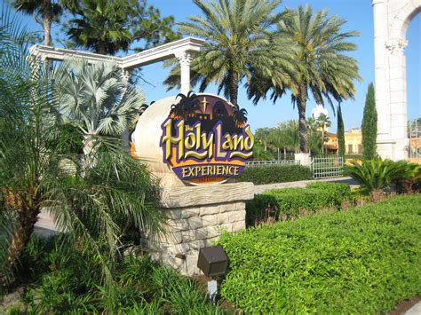 day   holy land orlando florida vacation travel guide