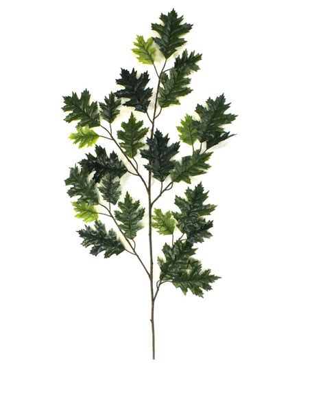 faux tree branches artificial oak foliage spray at evergreen direct