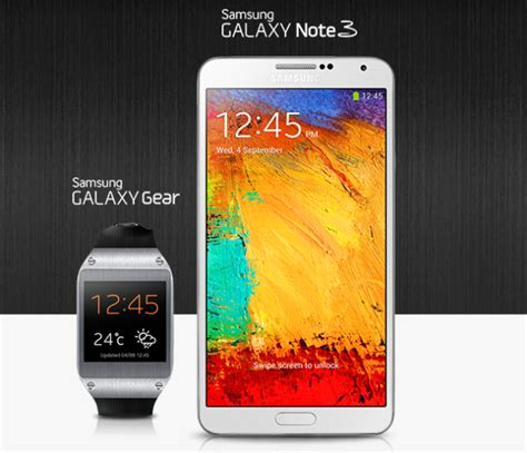 Samsung?s Galaxy Note 3, Galaxy Gear Pre Order Starts In India