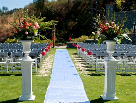 Wedding Aisle Outdoor by Ceremonies Gallery