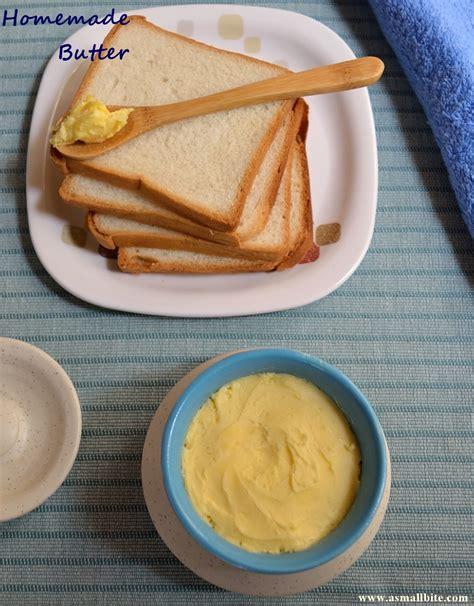 Handmade Butter - butter how to churn butter at home asmallbite