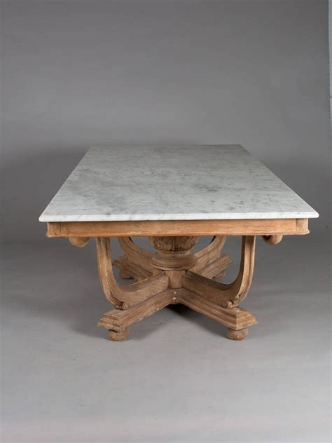 1930s Dining Table 1930s Marble Top Dining Table For Sale At 1stdibs