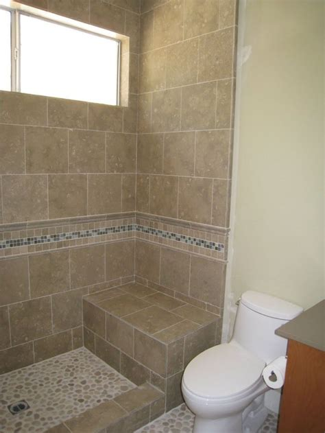 Tile Shower Without Door Doorless Shower Stall Designs Studio Design Gallery Best Design