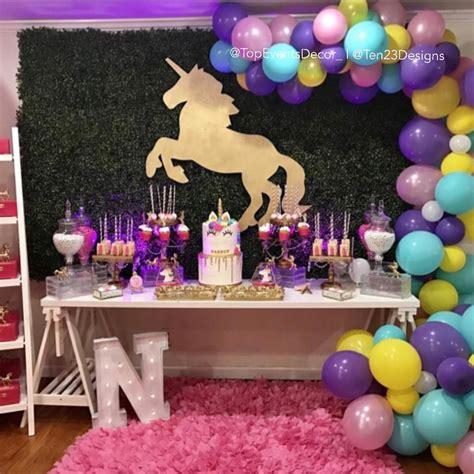 unicorn themed birthday party blog unicorn theme birthday party