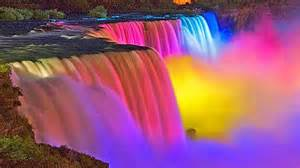 amazing niagara falls night