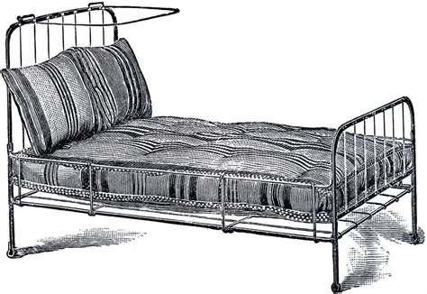 old iron beds vintage iron bed image the graphics fairy