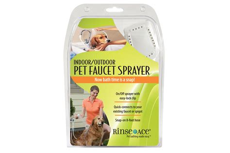 Rinse Ace Pet Shower by Wash The Indoor Outdoor Shower Indoor Outdoor Pet Faucet Sprayer Rinse Ace