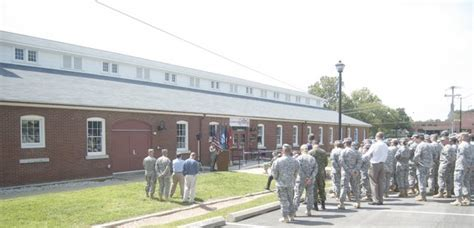 Former horse stables become site of Fort Leavenworth