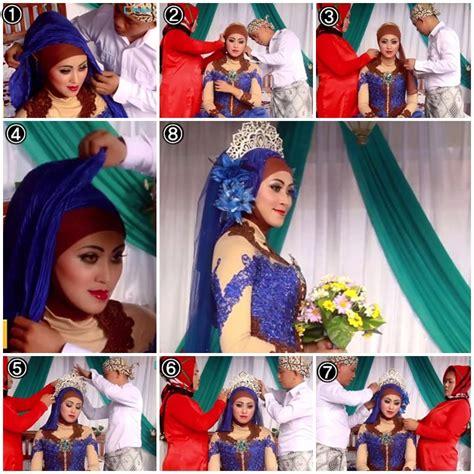tutorial hijab untuk acara pengantin tutorial hijab untuk pengantin terbaru