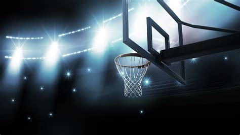 basketball courts with lights basketball wallpaper hd collection