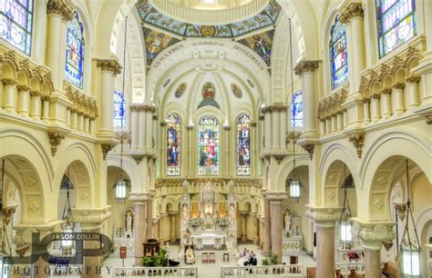 Delightful Churches For Weddings #5: Sacred-heart-church-tampa-interior-wedding-01.jpg