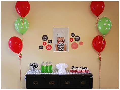 simple birthday decoration at home home design kids birthday party ideas archives page of