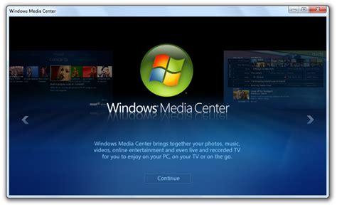 Senter Medis windows media center in windows 7 build 7022 redmond pie