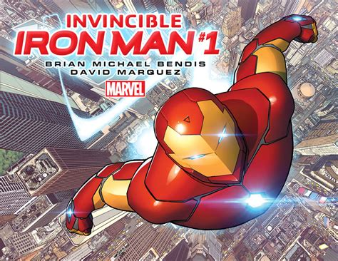 marvel announces new invincible iron comic ign