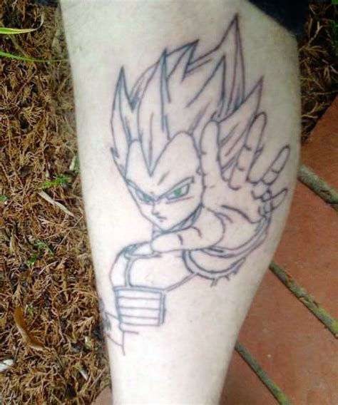 dragon ball tattoos vegeta the dao of dragon ball