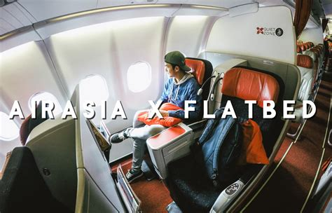 air asia x can the low cost model go long haul pengalaman menaiki airasia x premium flatbed ke tokyo jepun