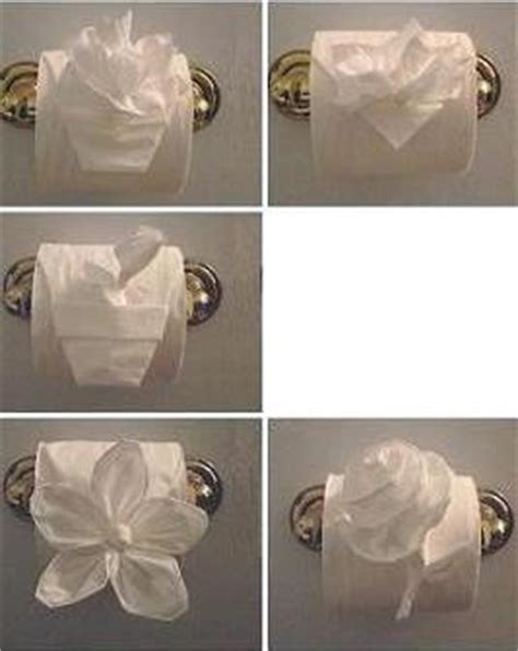 Folding Toilet Paper Fancy - toilet paper origami book