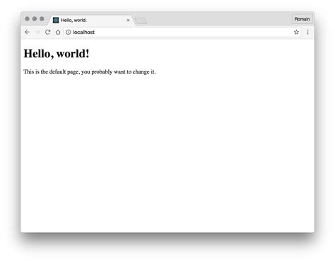 simple node js hello world nginx pagespeed and a simple node js backend web
