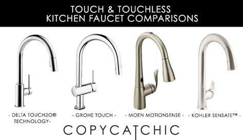touchless kitchen faucet copy cat chic giveaway delta faucet temp2o shower copycatchic