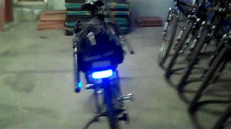 police motorcycle emergency lights police bike patrol emergency light system youtube