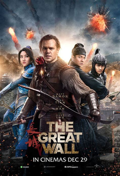 movies this weekend the great wall 2016 watch the great wall 2016 in singapore cinemas