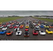 Secret Supercar Meet &16320m Of Supercars Brave The Rain