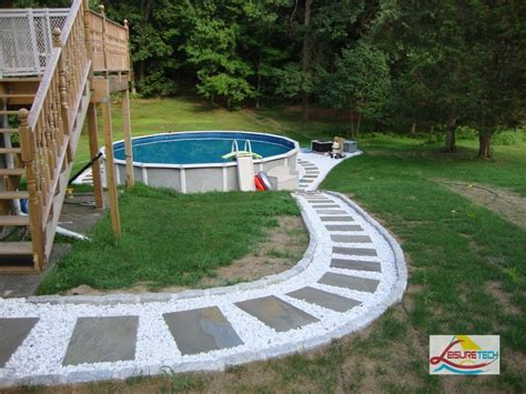 Patio Pavers Around Above Ground Pool Above Ground Pool Accessories Images Spray Glow In