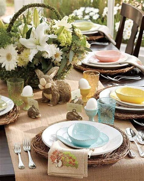 spring tablescape elegant easter tablescapes easter pinterest
