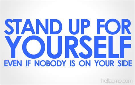 stand up for yourself flickr photo sharing