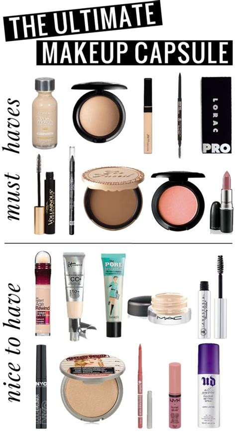 7 Makeup Must Haves For by 1000 Ideas About Basic Makeup Kit On Makeup