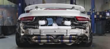 Porsche 911 Turbo Engine Porsche 911 Turbo Strips To Show Us A Stuning Custom