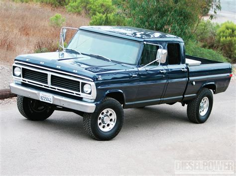 1970 Ford F 250 Crew Cab: Low Budget, High Value   Diesel